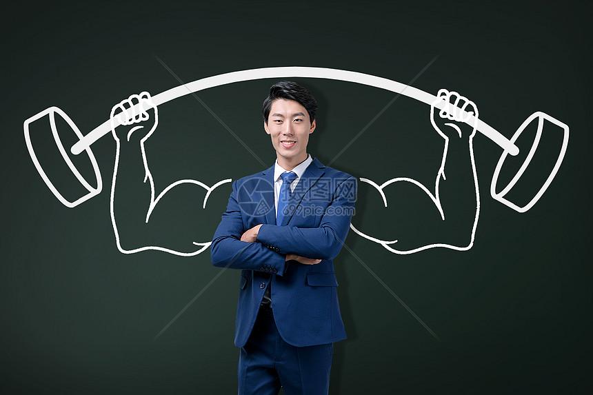 成功的领导者图片