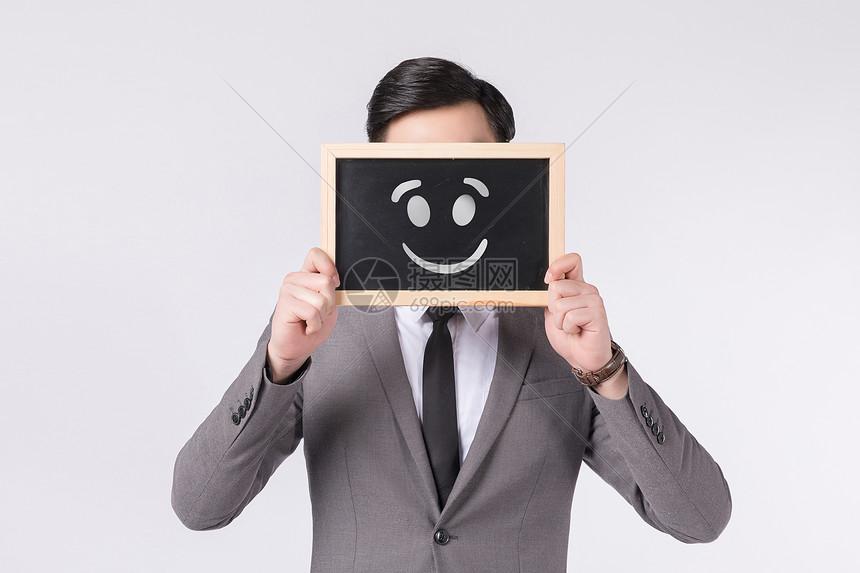 商务人士笑脸图片