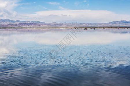 天空之镜-茶卡盐湖图片