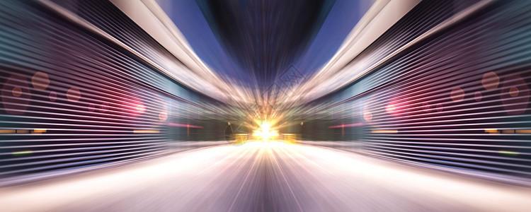 汽车海报路面背景图片