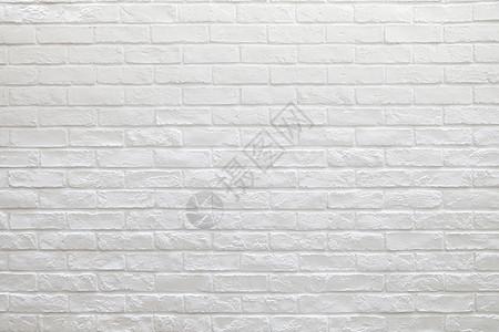 白色砖墙背景图片