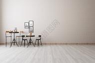 桌椅组合家具效果图图片