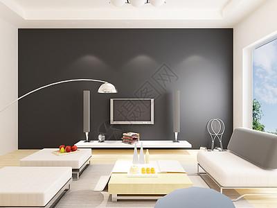 室内电视背景墙效果图图片