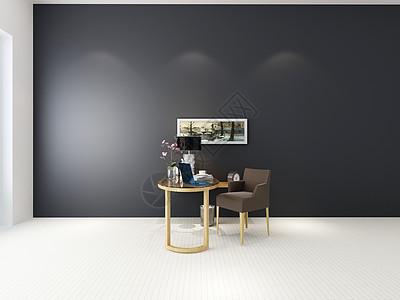 现代客厅卡座效果图图片