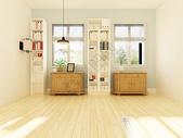 现代大厅家具效果图图片