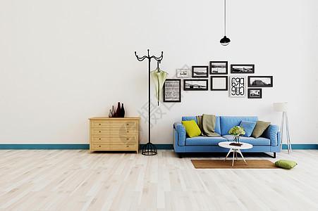 现代客厅组合效果图图片