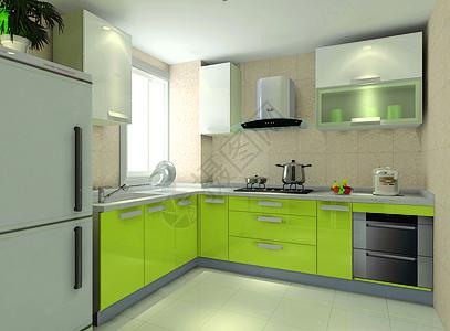 现代风格厨房图片