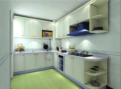 现代厨房效果图片