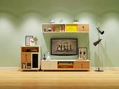 现代电视柜效果图图片