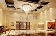 现代酒店大堂图片