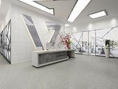 现代办公空间大堂图片