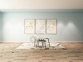 北欧风格客厅茶几效果图图片