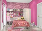 现代儿童房图片