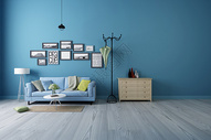 现代客厅沙发背景墙图片