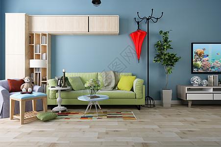 后现代沙发背景墙图片