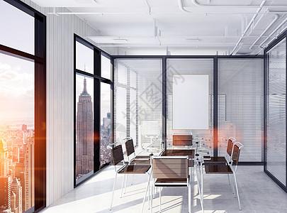 现代办公室背景图片
