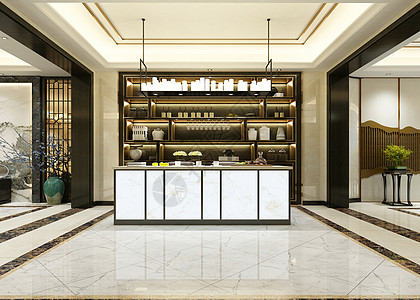 现代酒柜背景图片