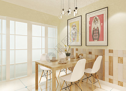 创意餐厅背景图图片
