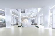 现代办公大堂场景图片