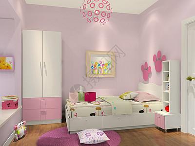 粉色系房屋效果图片