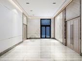 现代办公空间走廊图片