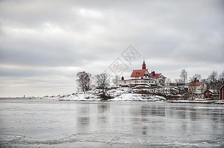 芬兰堡码头城堡图片