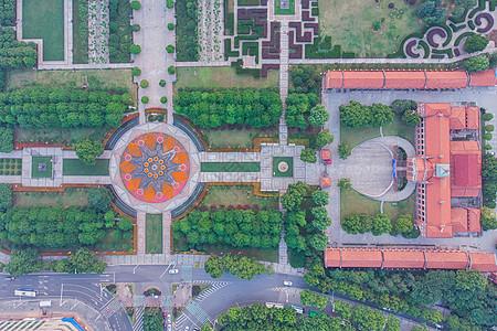 俯瞰武汉辛亥革命武昌起义军政府旧址图片