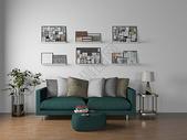 室内客厅沙发效果图图片