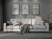 现代风格温馨客厅效果图图片