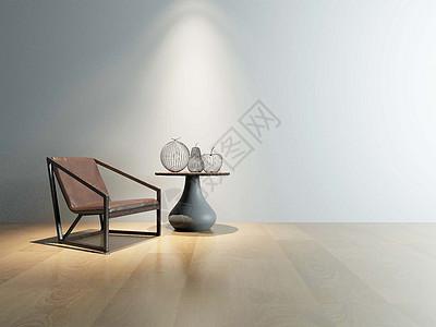 单椅展示柜效果图图片