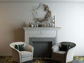 简约座椅装饰柜组合图片