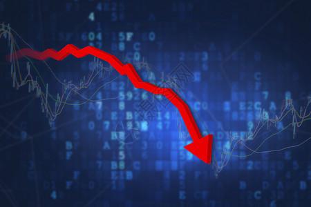 股市暴跌图片