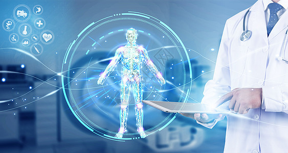 科技健康体检图片