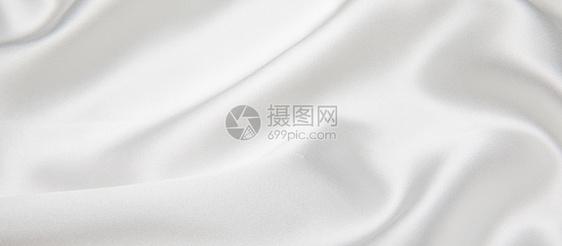 白色丝绸背景素材图片