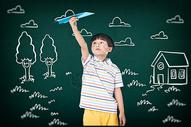 孩子的想象力图片