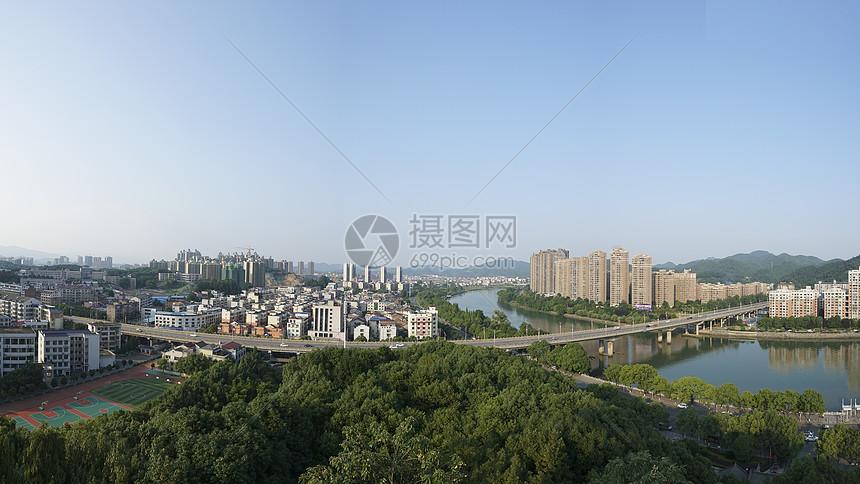 湖南浏阳市浏阳河全貌图片