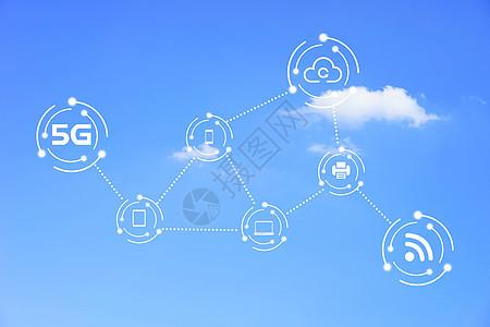 5G云数据网络图片