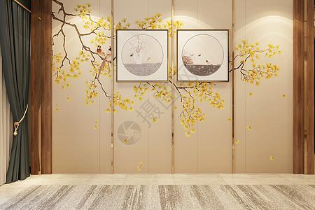 中式简约空间图片