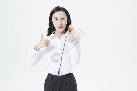 商务女性客服形象图片
