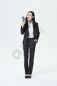 商务女性电话生气图片