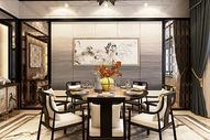 中式餐厅空间图片