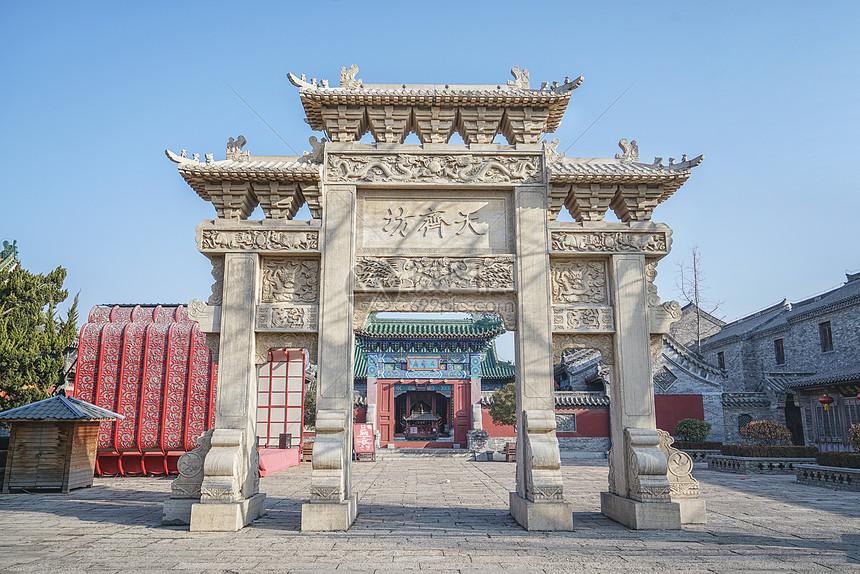 台儿庄地标建筑图片