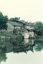 江西渼陂古村风景风光图片