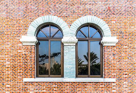 拱形窗户背景图片