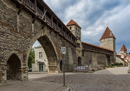 欧洲中世纪古城墙图片