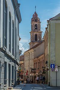 欧洲历史文化名城维尔纽斯城市风光图片