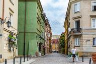 波兰首都华沙城市风光图片