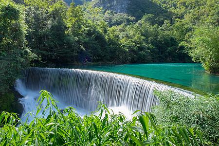 贵州小七孔景区瀑布图片
