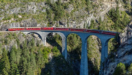 瑞士阿尔卑斯山观光火车图片