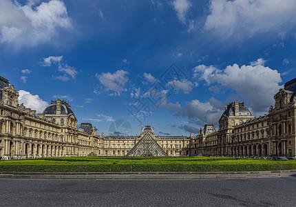 法国巴黎卢浮宫图片